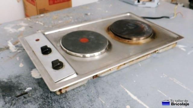cómo reparar el fogón de una placa eléctrica de una cocina