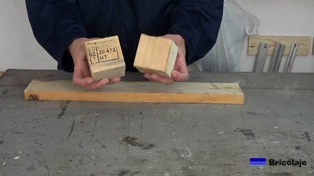 madera de palets necesaria para hacer la repisa o balda flotante