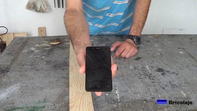 vamos a realizar un soporte para un smartphone de 4.5