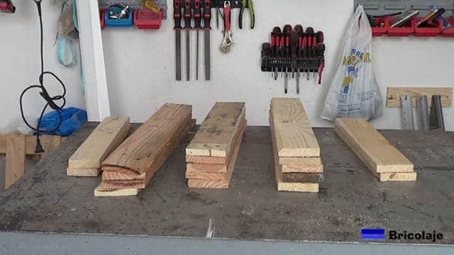 madera de palets para hacer las sillas de terraza