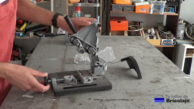 Soportes para la amoladora o radial y para el taladro - Soporte para taladro ...