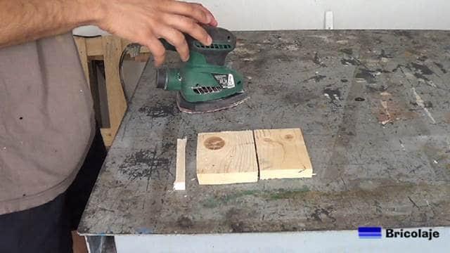 piezas con las que nos haremos el soporte para la tableta o tablet