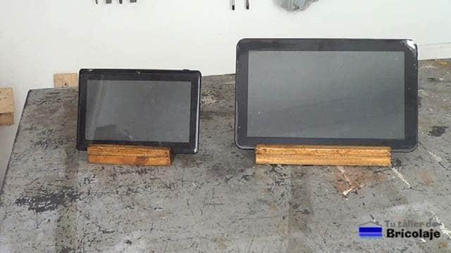 Cómo hacer un sencillo y práctico soporte de madera para tableta o tablet