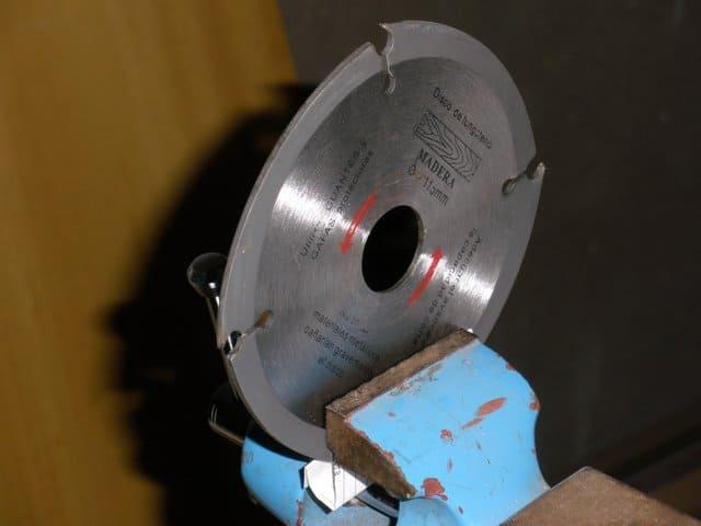 Discos de corte para amoladora o radial - Disco madera amoladora ...