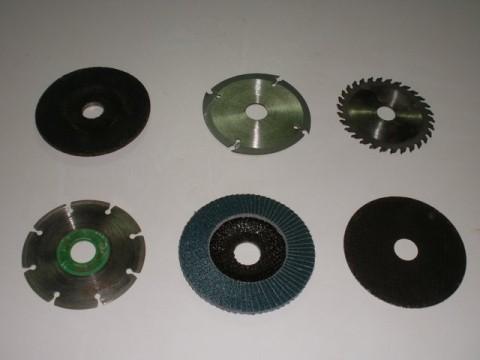 los distintos tipos de discos de corte más usados para la amoladora