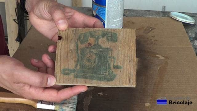 otro ejemplo de como transferir una imagen a la madera