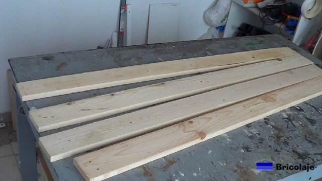 C mo unir madera de palets con tarugos o espigas for Como hacer una piscina con palets