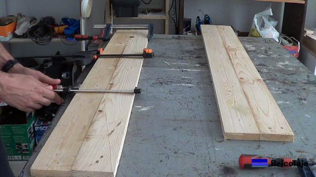C mo unir madera de palets con tarugos o espigas for Sargentos de madera