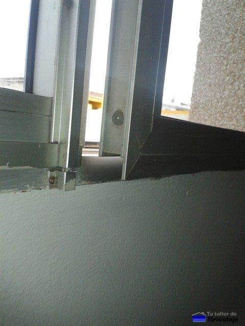 Reparación de ventanas de aluminio desniveladas ...