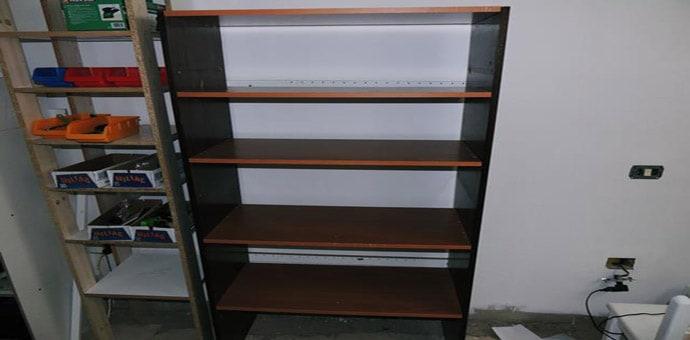 cómo hacer una estantería de madera con restos