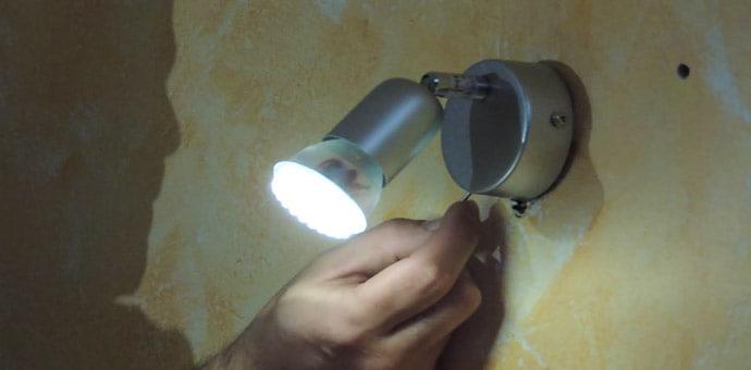 Cómo modificar e instalar una lámpara para añadirle un interruptor