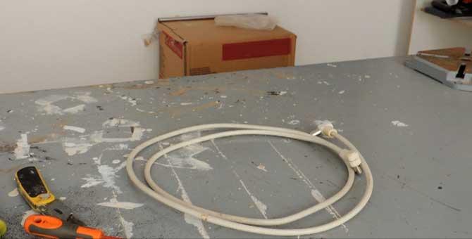 Cómo hacer cable coaxial para tv