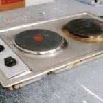 Cómo reparar el fogón o quemador de una placa eléctrica de cocina