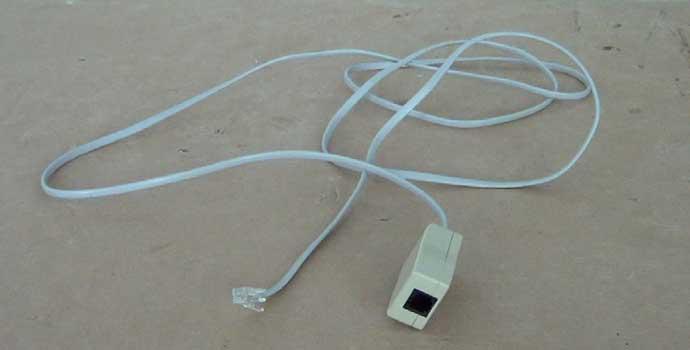 cómo hacer un cable de teléfono macho a hembra mediante el reciclaje