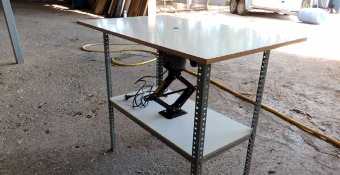 Cómo hacer una mesa para la fresadora. 1ª parte: la estrcutura.