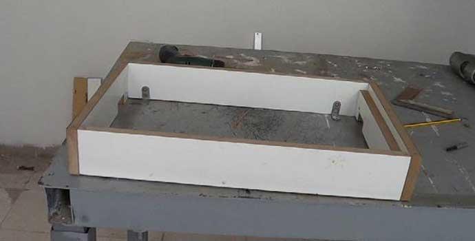 Cómo hacer una caja de registro de madera: 1ª parte: la estructura