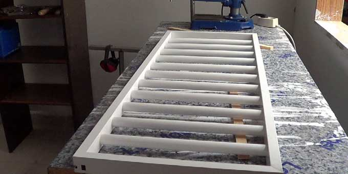 C mo hacer una reja de aluminio for Como construir piletas de material