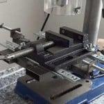 Cómo hacer una escopleadora casera usando un taladro de columna o soporte para taladro. 2/2