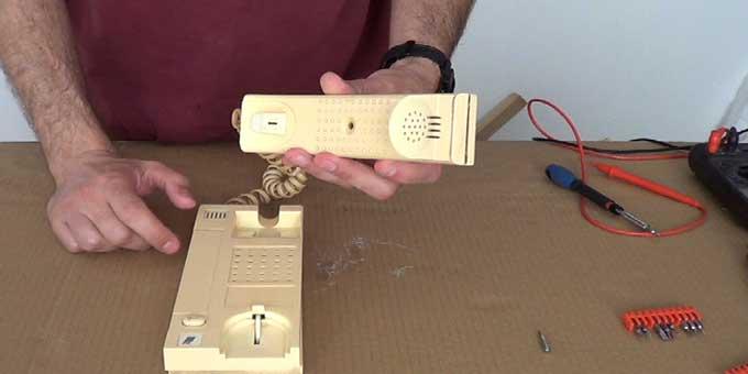 Reparación del audio de un portero eléctrico
