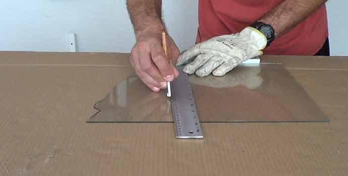 Cómo realizar cortes en vidrio o cristal