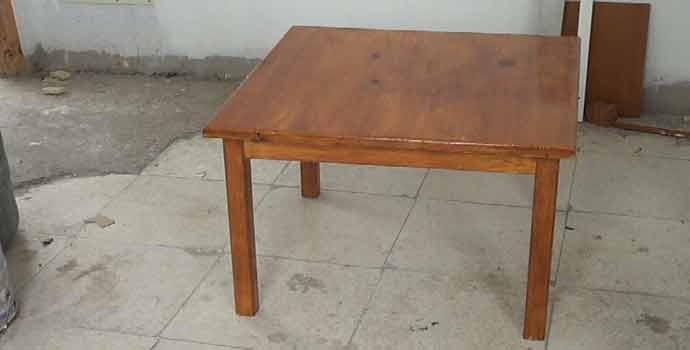 Cómo hacer una mesa de centro. 2/2
