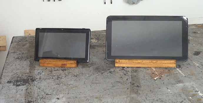 Cómo hacer un soporte de madera para tablets o tabletas