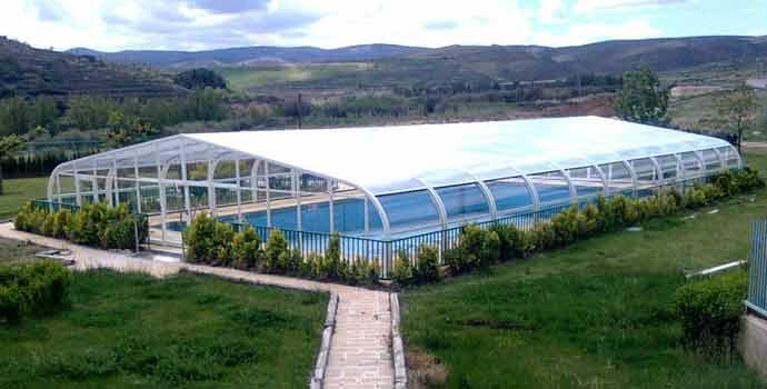 refente en España en cubiertas para piscinas: Abrisol