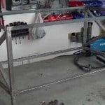 Cómo hacer una mesa de centro de hierro y palets. 1/2