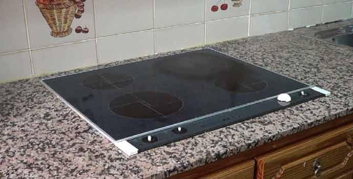 Cómo sustituir una placa de cocina