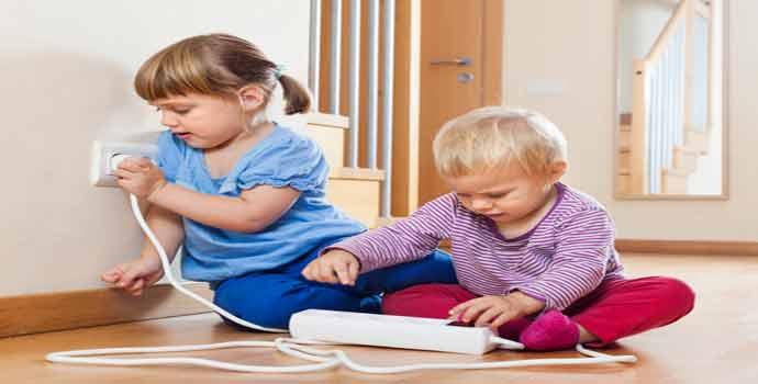 Cinco consejos para hacer la instalación eléctrica más segura para los niños