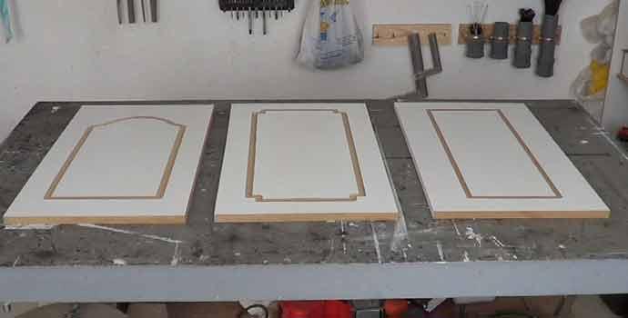 plantilla para hacer puertas de cocina en madera mdf