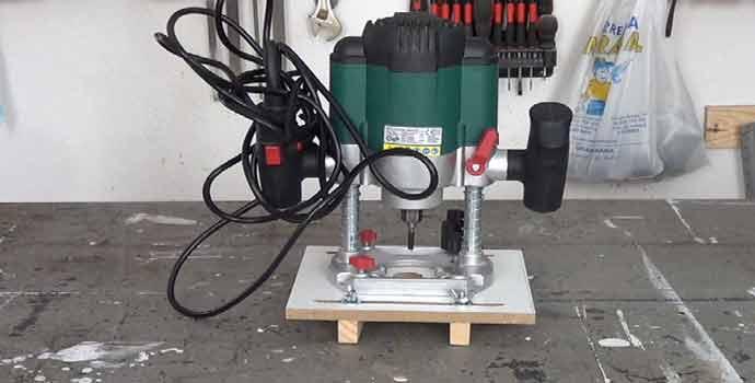 Cómo hacer una plantilla para ranurar la madera con la fresadora o router
