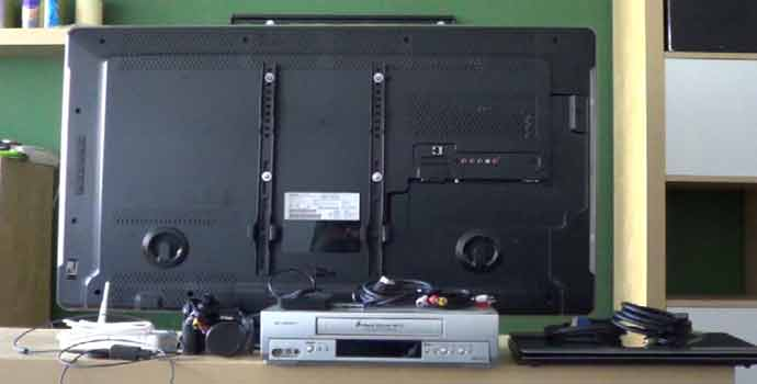 Algunos ejemplos de conexiones para la televisión