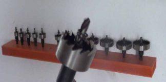 usos para las brocas de corona hss