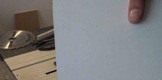 Como evitar el astillado al cortar el mdf plastificado con mesa de corte