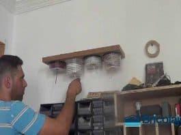 Cómo organizar retales de cables mediante el reciclaje