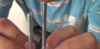 Cómo hacer rosca a un tornillo de carrocero