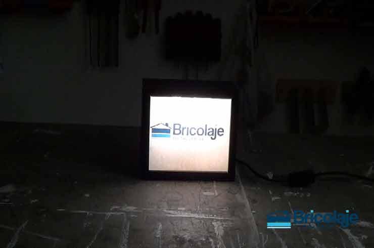 cómo hacer una caja de luz decorativa
