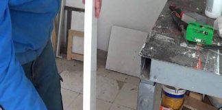Cómo enchampillar o cantear madera con plancha