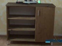 Cómo hacer un sencillo mueble para el salón en madera