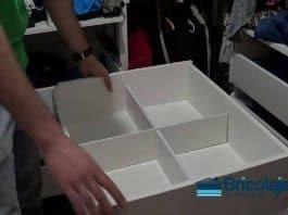 Cómo hacer un organizador de cajones