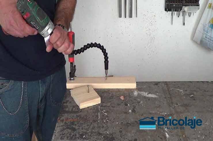 flexible extensor para tornillos de difícil acceso