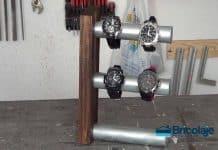 Cómo hacer un soporte para relojes de mano