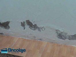 eliminación de humedades en una pared