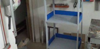 Cómo hacer una estantería en madera para oficina
