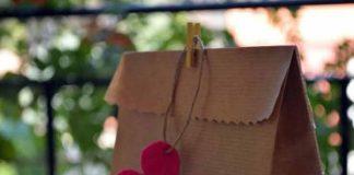 Ideas de decoración: Bricolaje con bolsa de papel