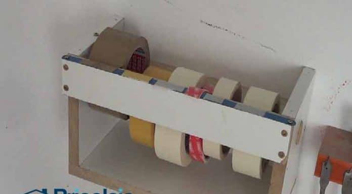 Cómo hacer un dispensador casero de cintas adhesivas