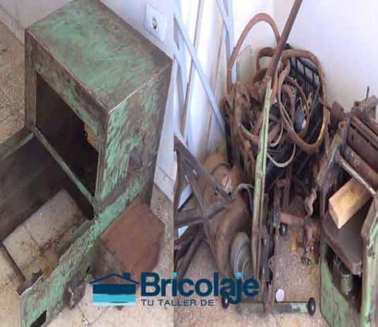 Restaurar y reparar máquina universal de carpintería. El propósito