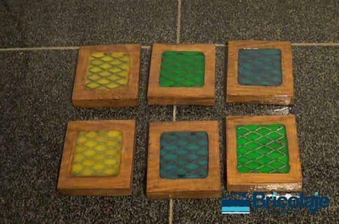 Cómo hacer unos posavasos estilo industrial con resina epoxi