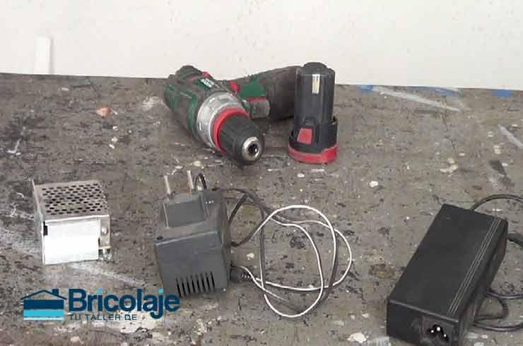Cómo reutilizar el taladro atornilladora sin batería